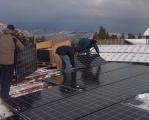 Realizzazione di pensiline Fotovoltaiche